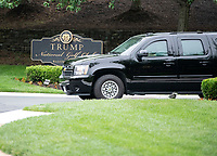 Donald Trump Departure from Golf