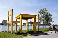 AMSTERDAM - 5 mei Tafel aan het IJ.
