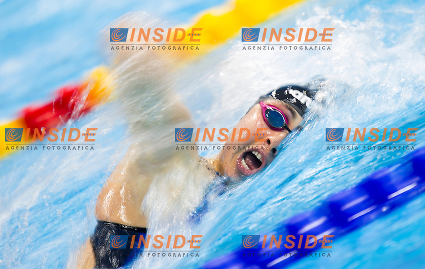 CARLI Diletta ITA<br /> London, Queen Elizabeth II Olympic Park Pool <br /> LEN 2016 European Aquatics Elite Championships <br /> Swimming<br /> Women's 800m freestyle preliminary  <br /> Day 10 18-05-2016<br /> Photo Giorgio Perottino/Deepbluemedia/Insidefoto