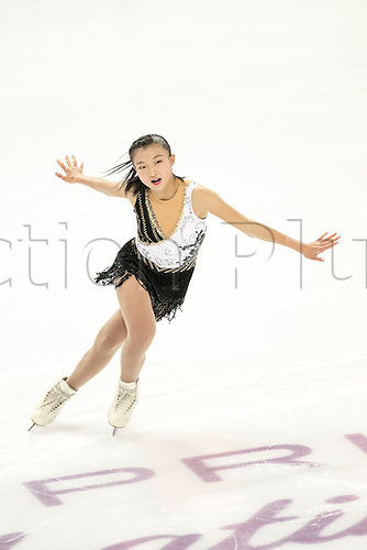 08.12.2016. Palais Omnisports, Marseille, France. ISU Junior Figure Skating Grand Prix Final. Kaori Sakamoto (JPN) competes in the Women's Short Program.