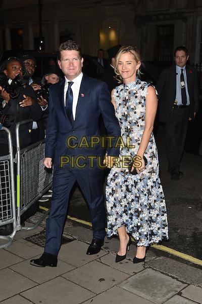 American Ambassador Matthew Barzun (L) and Brooke Brown Barzun<br /> Harper's Bazaar Women of the Year 2015 awards,  Claridges Hotel n London, November 03, 2015.<br /> CAP/PL<br /> &copy;Phil Loftus/Capital Pictures