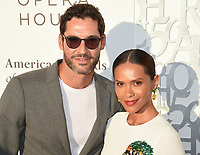10 July 2019 - Beverly Hills, California - Tom Ellis, Lesley-Ann Brandt. American Friends of Covent Garden Celebrates 50 Years With A Special Event For The Royal Opera House and The Royal Ballet at the Waldorf Astoria. Photo Credit: Billy Bennight/AdMedia