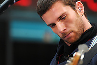 Guy Berryman of Coldplay performs at the Today Show Summer Concert Series at Rockefeller Plaza , NYC (06-27-08)