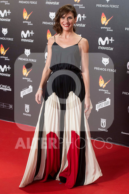 Malena Alterio attends red carpet of Feroz Awards 2018 at Magarinos Complex in Madrid, Spain. January 22, 2018. (ALTERPHOTOS/Borja B.Hojas)