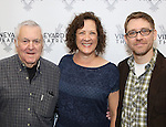 John Kander, Karen Ziemba and Greg Pierce attends the photocall for the Vineyard Theatre production of 'Kid Victory' at Ripley Grier on January 5, 2017 in New York City.