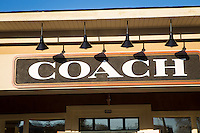 Coach Factory store is pictured in Tanger Outlets in Sevierville,  Tennessee Thursday March 20, 2014.