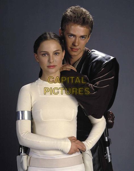 NATALIE PORTMAN & HAYDEN CHRISTENSEN.in Star Wars Episode 2 - Attack of the Clones.*Filmstill - Editorial Use Only*.Ref: FB.www.capitalpictures.com.sales@capitalpictures.com.Supplied by Capital Pictures