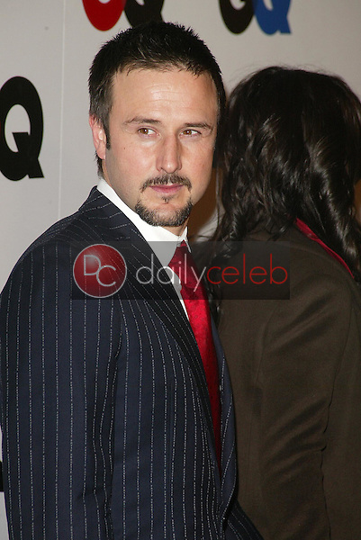 """David Arquette<br />at the GQ Magazine's 10th Anniversary """"Men of the Year"""" Issue Release Party, Mr. Chow's, Beverly Hills, CA 12-01-05<br />Jason Kirk/DailyCeleb.com 818-249-4998"""