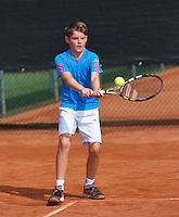 August 6, 2014, Netherlands, Rotterdam, TV Victoria, Tennis, National Junior Championships, NJK,  Jens Hoogendam (NED)<br /> Photo: Tennisimages/Henk Koster