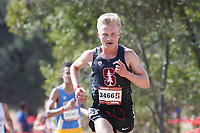 Stanford, CA - September 29, 2018: Blair Hurlock during the Stanford Cross Country Invitational held Saturday morning on the Stanford Golf course.