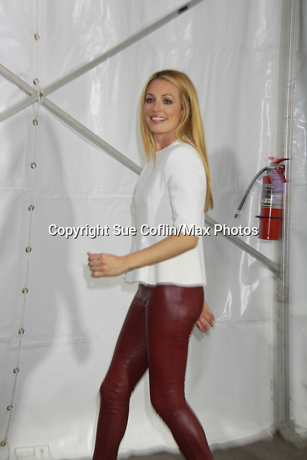 Cat Deeley  - Host So You Think You Can Dance at The Fox 2012 Programming Presentation on May 14, 2012 at Wollman Rink, Central Park, New York City, New York. (Photo by Sue Coflin/Max Photos) 917-647-8403