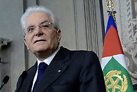 Roma, 13 Aprile 2018<br /> Sergio Mattarella<br /> Secondo giro di Consultazioni per la formazione del Governo