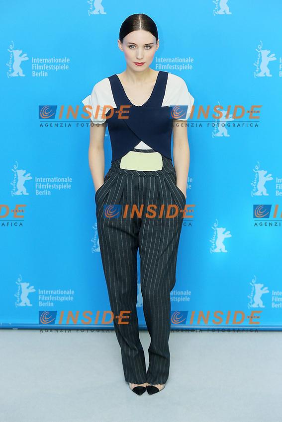 Rooney Mara. Berlin 12/02/2013. 63th Berlinale 'Side Effects' photocall. foto Mark Cape/Insidefoto