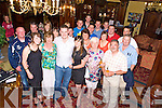 Brian O'Leary, Ballydribbeen, Killarney pictured withhis mom Una, girlfriend Liza O'Sullivan, family and friends as he celebrated his 30th birthday in the Killarney Avenue on Saturday night........