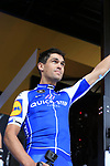 Jack Bauer (NZL) Quick-Step Floors team on stage at the Team Presentation in Burgplatz Dusseldorf before the 104th edition of the Tour de France 2017, Dusseldorf, Germany. 29th June 2017.<br /> Picture: Eoin Clarke | Cyclefile<br /> <br /> <br /> All photos usage must carry mandatory copyright credit (&copy; Cyclefile | Eoin Clarke)