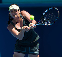 SOPHIE ARVIDSSON..Tennis - Apia Sydney International -  Sydney 2013 -  Olympic Park - Sydney - NSW - Australia. Sunday 6th January  2013. .© AMN Images, 30, Cleveland Street, London, W1T 4JD.Tel - +44 20 7907 6387.mfrey@advantagemedianet.com.www.amnimages.photoshelter.com.www.advantagemedianet.com.www.tennishead.net
