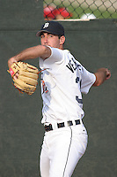 Lakeland Tigers pitcher Justin Verlander #35 before the Florida State League All-Star game at Bright House Field on June 18, 2005 in Clearwater, Florida. Verlander was a member of the West division All-Star team. The West team defeated the East Division team by the score of 6-4. (Robert Gurganus/Four Seam Images)