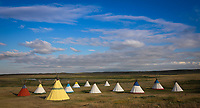 Peace on the Plains - Montana - Blackfeet Rez - Tipis