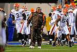 17 November 2008:  Cleveland Browns' head coach Romeo Crennel takes the field prior to facing the Buffalo Bills at Ralph Wilson Stadium in Orchard Park, NY. The Browns defeated the Bills 29-27 in the Monday Night AFC matchup. *** Editorial Sales Only ****..Mandatory Photo Credit: Ed Wolfstein Photo