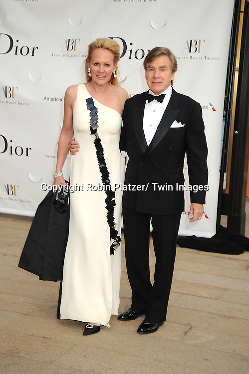 Muffy Potter Aston and Dr Sherrell Aston attends the American Ballet Theatre's Spring Gala on May 13, 2013 at The Metropolitan Opera House in New York City.