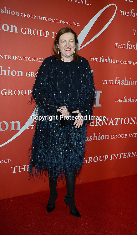 Glenda Bailey attends the Fashion Group International's Night of Stars Gala on October 22, 2013 at Cipriani Wall Street in New York City.
