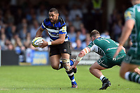 Taulupe Faletau of Bath Rugby in possession. Aviva Premiership match, between Bath Rugby and London Irish on May 5, 2018 at the Recreation Ground in Bath, England. Photo by: Patrick Khachfe / Onside Images