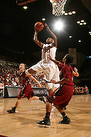 STANFORD, CA - JANUARY 10:  Forward Nnemkadi Ogwumike #30 of the Stanford Cardinal during Stanford's 102-53 win against the Washington State Cougars on January 10, 2009 at Maples Pavilion in Stanford, California.