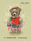 GIORDANO, CUTE ANIMALS, LUSTIGE TIERE, ANIMALITOS DIVERTIDOS, Teddies, paintings+++++,USGI2827,#AC# teddy bears