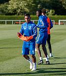 08.08.18 Rangers training: Alfredo Morelos