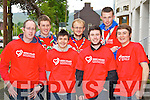 Pictured at the 10K run Summer Solstice in aid of the Irish heart foundation in Tralee on Saturday were Stewards from left:  Emmett Moriarty (Tralee) Fergus Dennehy (Tralee) Ethan Cronin (Tralee) Darren Truslove (Tralee) Darren O'Keeffe (Tralee) Jason Kelly (Tralee) James O'Connnell (Ardfert)