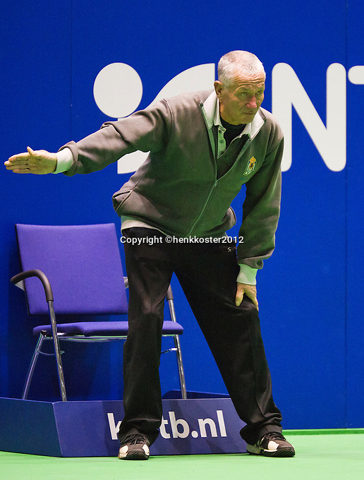 11-12-12, Rotterdam, Tennis, Masters 2012, Linesman