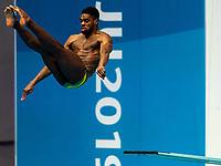 KNIGHT-WISDOM Yona JAM JAMAICA<br /> Gwangju South Korea 17/07/2019<br /> Diving Men's 3m Springboard Preliminary <br /> 18th FINA World Aquatics Championships<br /> Nambu University Aquatics Center <br /> Photo © Andrea Staccioli / Deepbluemedia / Insidefoto
