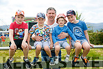 At the Kingdom County Fair in Ballybeggan on Sunday were Rory, Alex, Brendan, Jamie and Adam O'Flaherty from Listellick, Tralee