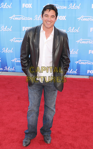 Dean Cain.American Idol Season 11 Finale - Arrivals held at Nokia Theatre LA Live, Los Angeles, California, USA..May 23rd, 2012.full length black leather jacket white shirt jeans denim .CAP/ROT/TM.©Tony Michaels/Roth Stock/Capital Pictures