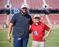 Stanford, CA - October 26, 2019:  Stanford Football defeats Arizona, 41-31 at Stanford Stadium.