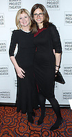 NEW YORK CITY, NY, USA - MARCH 10: Arianna Huffington, Desiree Gruber at the Women Project Theater's 2014 Women Of Achievement Gala held at Mandarin Oriental Hotel on March 10, 2014 in New York City, New York, United States. (Photo by Jeffery Duran/Celebrity Monitor)