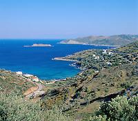 Greece, Central Greece, Island Evia, near Agii Apostoli: East-Coast View | Griechenland, Mittelgriechenland, Insel Euboea - heute Évia genannt, bei Agii Apostoli: Ostkueste der Insel