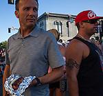 Grillin N' Chillin Rib and Chili Cook Off and Street Fair in Dixon, California, Saturday, July 18, 2015.  Photo/Victoria Sheridan