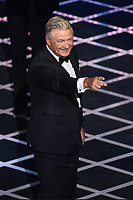 """BEVERLY HILLS - SEPTEMBER 7: Alec Baldwin appears onstage at the """"Comedy Central Roast of Alec Baldwin"""" at the Saban Theatre on September 7, 2019 in Beverly Hills, California. (Photo by Frank Micelotta/PictureGroup)"""