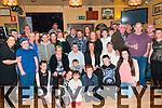 30th Birthday : John Heffernan, Moyvane celebrating his 30th birthday with family & friends at Speedies Bar, Moyvane on Saturday night last.