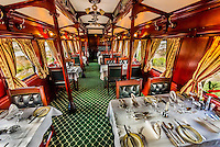 South Africa-Rovos Rail-Train Interiors-Dining Car