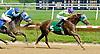 Langley winning at Delaware Park on 5/23/12