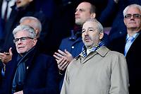 Swansea City majority shareholder Steve Kaplan looks on prior to the Premier League match between Burnley and Swansea City at Turf Moor, Burnley, England, UK. Saturday 18 November 2017