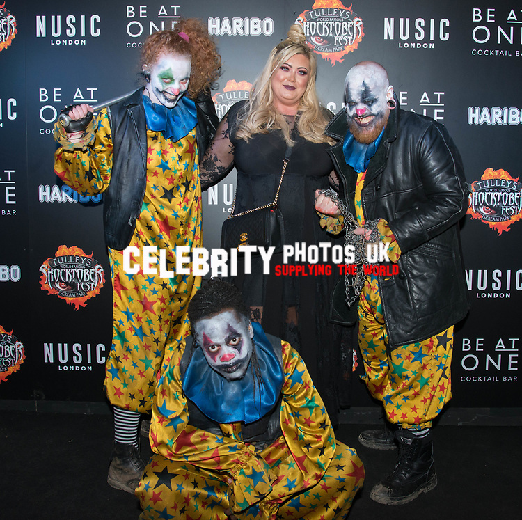 Gemma Collins at the Opening of Shocktober at  Tulleys Farm, Surrey, UK photo by Amanda Cunningham