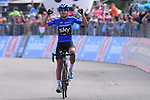 Mikel Landa (ESP) Team Sky wins Stage 19 of the 100th edition of the Giro d'Italia 2017, running 191km from San Candido/Innichen to Piancavallo, Italy. 26th May 2017.<br /> Picture: LaPresse/Gian Mattia D'Alberto   Cyclefile<br /> <br /> <br /> All photos usage must carry mandatory copyright credit (&copy; Cyclefile   LaPresse/Gian Mattia D'Alberto)