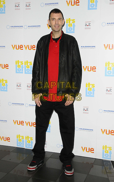 Tim Westwood<br /> The &quot;It's A Lot&quot; UK film premiere, Vue West End cinema, Leicester Square, London, England.<br /> October 21st, 2013<br /> full length black jacket trousers red top<br /> CAP/CAN<br /> &copy;Can Nguyen/Capital Pictures