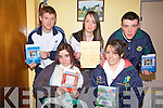 Taking part in the Drive Safe campaign at the Community Centre Tarbert on Saturday were front l-r Kamila Magdziak, Holly Doyle, Listowel.  Back l-r David Culahane, Ballylongford, Aisling McCarthy, Listowel and James Flavin, Moyvane  ..   Copyright Kerry's Eye 2008