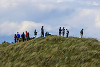 Watching  the play on the 14th during Round 4 of The East of Ireland Amateur Open Championship in Co. Louth Golf Club, Baltray on Monday 3rd June 2019.<br /> <br /> Picture:  Thos Caffrey / www.golffile.ie<br /> <br /> All photos usage must carry mandatory copyright credit (© Golffile | Thos Caffrey)
