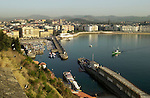 Donostia - San Sebastian is pictured on October 29th, 2001, Basque Country. Donostia was elected European Capital of Culture 2016, a title that shares with the eastern Polish city of Wroclaw, on June 28th, 2011. (Ander Gillenea / Bostok Photo)