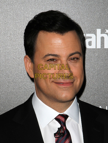 "Jimmy Kimmel.Caesars Entertainment Kick-Off Of ""Escape To Total Rewards"" , Los Angeles_Show Held At Hollywood & Highland Center, Hollywood, California, USA, 1st March 2012..portrait headshot white shirt red tie .CAP/ADM/KB.©Kevan Brooks/AdMedia/Capital Pictures."